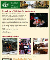 Late November Newsletter 2012