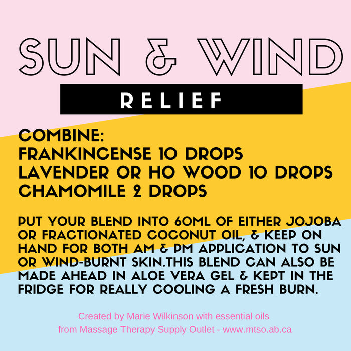 Make Your Own! Sun and Wind Relief Essential Oil Blend