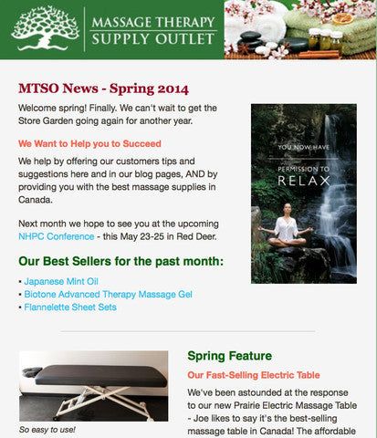 Spring Newsletter from MTSO