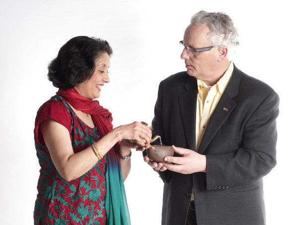 Neelam Toprani Pours Oil for Joe Clare
