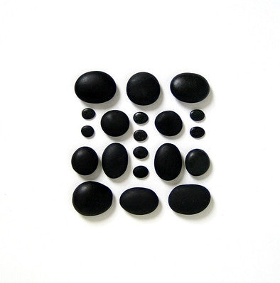The Mini Massage Set (20 Basalt Stones)