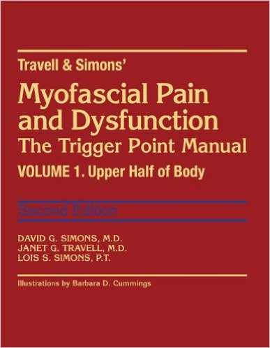 Myofascial Pain & Dysfunction Trigger point manual Vol.1 by J.Tr