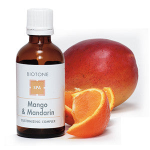 mango and orange spa customizing complex from Biotone