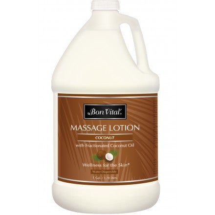 Bon Vital Coconut Massage Lotion- 1 gal
