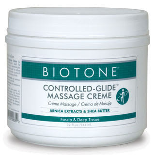 BIOTONE Controlled Glide Massage Creme (32 oz)