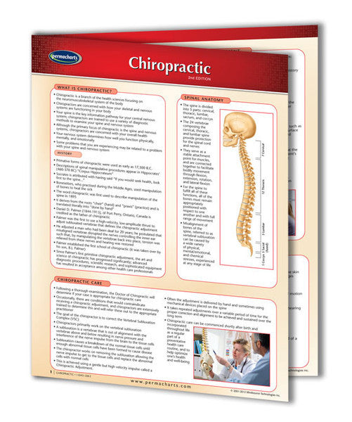 Chiropractic Two Panel Permachart