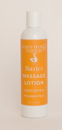 Soothing Touch Basics Massage Lotion 8oz