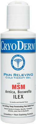 Cryoderm Cold Therapy Gel - 4 fl.oz.