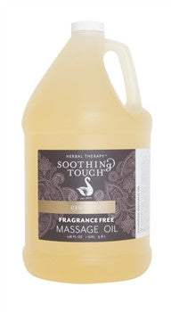 SOOTHING TOUCH Fragrance Free Oil 1 gallon