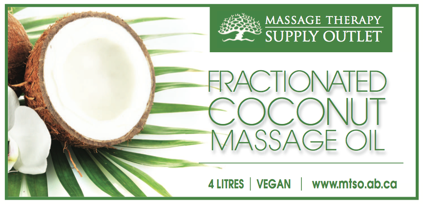 pure coconut massage oil from Massage Therapy Supply Outlet, 4 litres