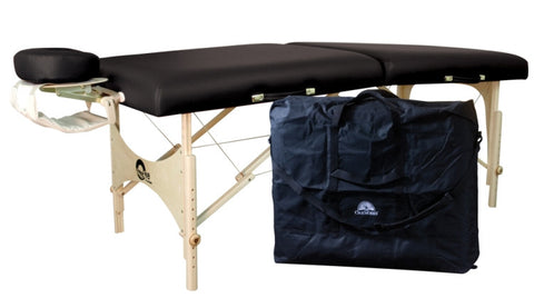 Massage Table - Oakworks THE ONE Table package including face rest, carry case and more