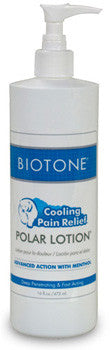 Polar lotion from Biotone, 16 oz with pump
