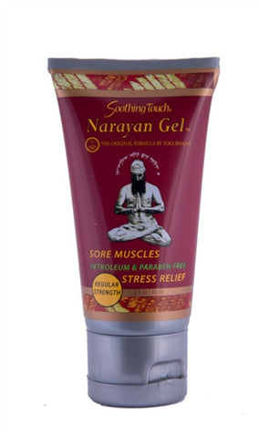 Narayan gel for pain relief from Soothing Touch, regular strength
