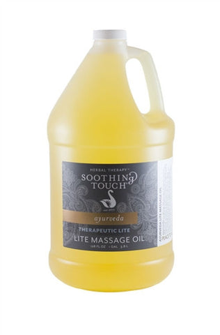 SOOTHING TOUCH Therapeutic Blend Massage Oil Lite (Half Gallon)