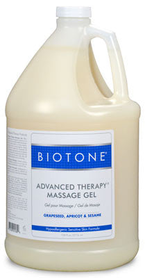 advanced therapy massage gel from Biotone- gallon