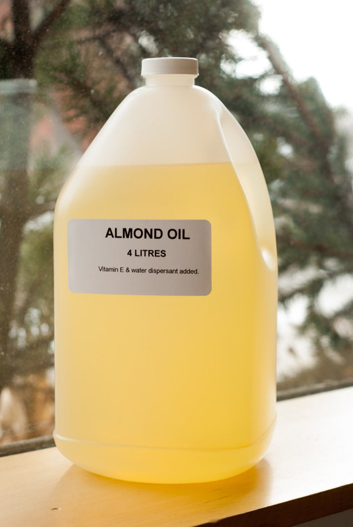Pure Almond Oil 4 litres