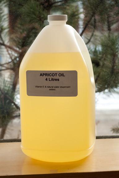 Pure Apricot Oil 4 litres