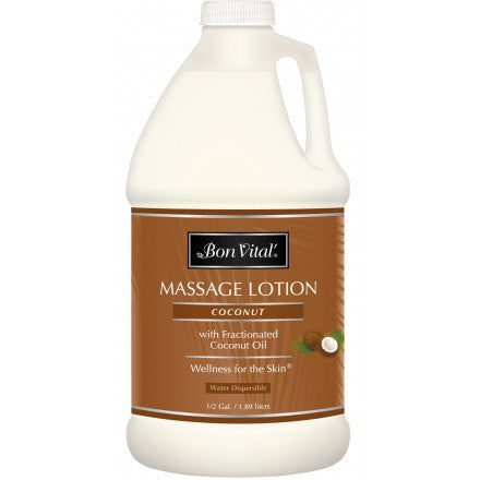 Bon Vital Coconut Massage Lotion - half gallon