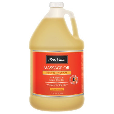 Bon Vital Muscle Therapy Massage Oil 1 gal.