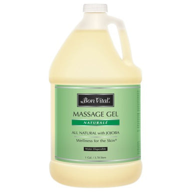 Bon Vital Naturalé Massage Gel 1 gallon unscented (ON BACKORDER)