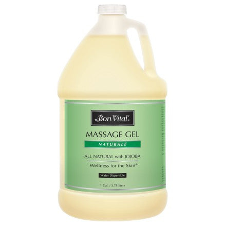 Bon Vital Naturalé Massage Gel 1 gallon unscented