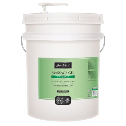 Bon Vital Naturalé Massage Gel 18.9 litres  unscented