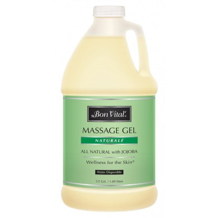 Bon Vital Naturale Massage Gel 1/2 Gallon