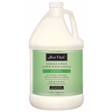 Bon Vital Naturale Massage Lotion  1/2 gal