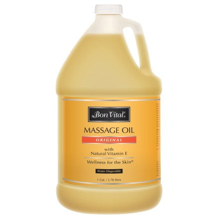 Bon Vital Original Massage Oil 1 Gallon