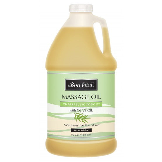Bon Vital Therapeutic Touch Massage Oil 1/2 Gallon