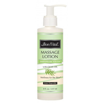 Bon Vital Therapeutic Touch Massage Lotion 8 oz