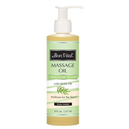 Bon Vital Therapeutic Touch Massage Oil 8 oz