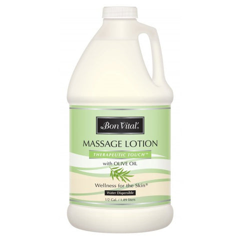 Bon Vital Therapeutic Touch Massage Lotion 1/2 Gallon
