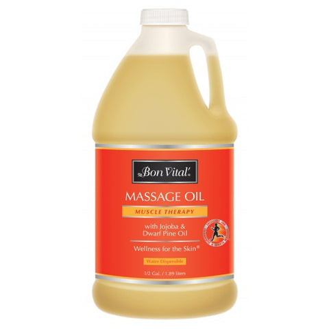 Bon Vital Muscle Therapy Massage Oil 1/2 Gallon