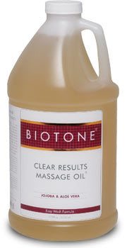 Clear Results Massage Oil from Biotone -gal