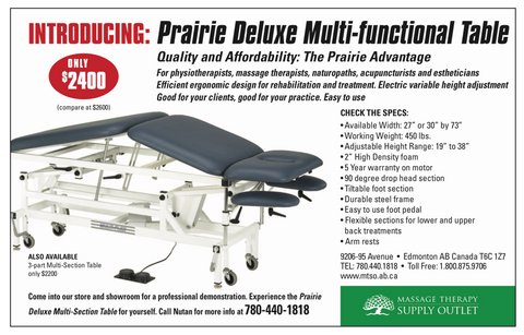 Prairie Deluxe Multi Functional Table