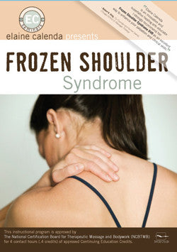 DVD - Frozen Shoulder Syndrome with Elaine Calenda