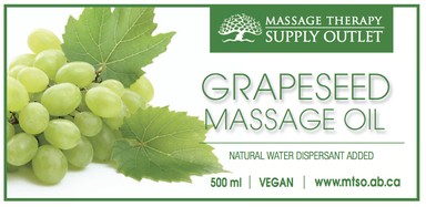 Pure Grapeseed Oil 500mls
