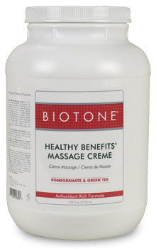 BIOTONE Healthy Benefits Massage Creme (1 gal)