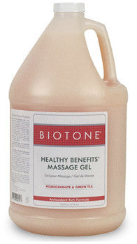 Healthy benefits massage gel from Biotone - gal