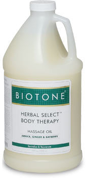 BIOTONE Herbal Select Body Therapy Massage Oil (Half Gal)
