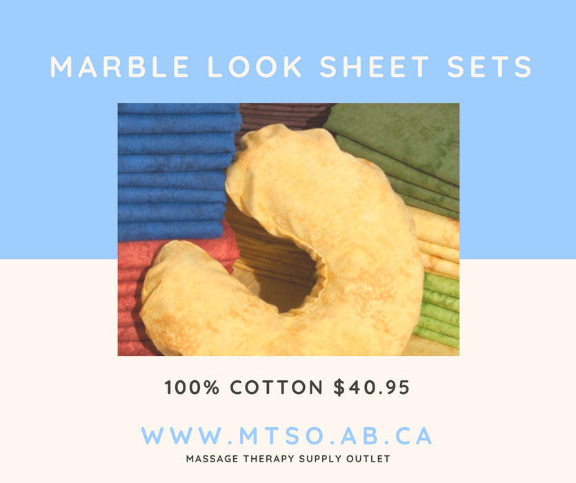 Marble-Look Sheet Set