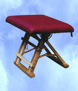 Reflexology stool