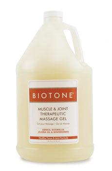 BIOTONE Muscle & Joint Therapeutic Massage Gel (1 gal)