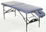 Pisces New Wave II Lite aluminum frame massage table, shown open