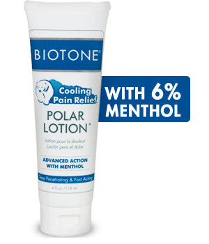 Biotone Polar lotion with menthol