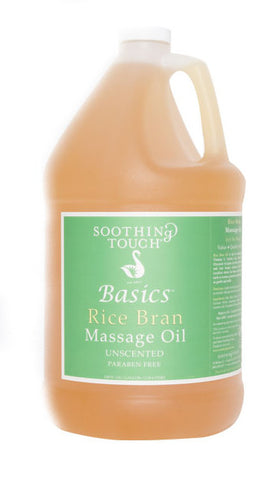 Soothing Touch Rice Bran Massage Oil - 1 gallon