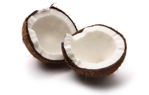 Pure coconut used in our coconut massage oil
