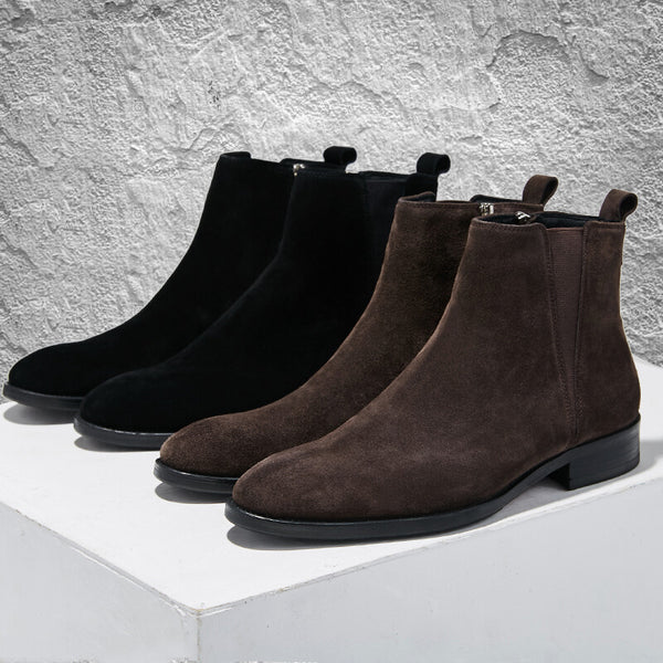 Mzansibuy - Flip Leather Chelsea Boots