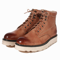 Desert Retro Leather Men's Martin Boots